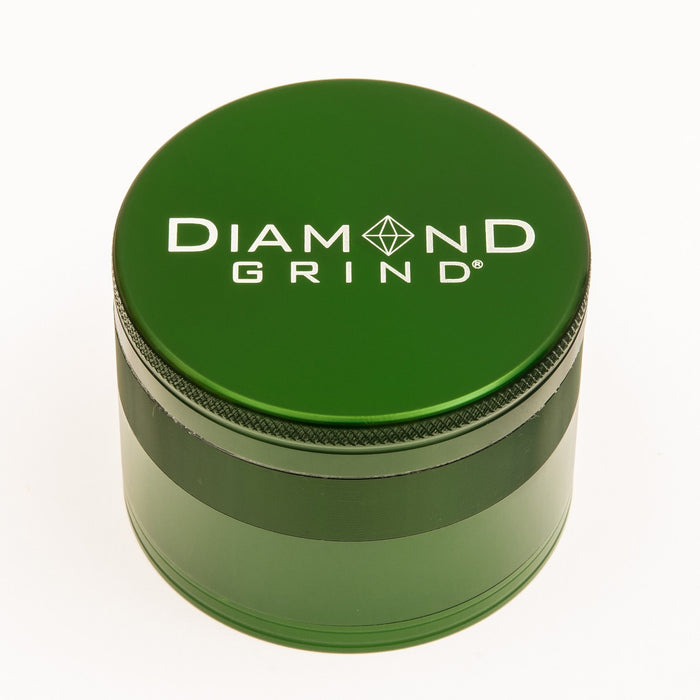 "Diamond Grind 2.5"" 4 Piece Herb Grinder"