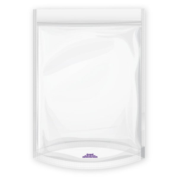 Stink Sack Two Gallon Smell Proof Bag Clear (Single)