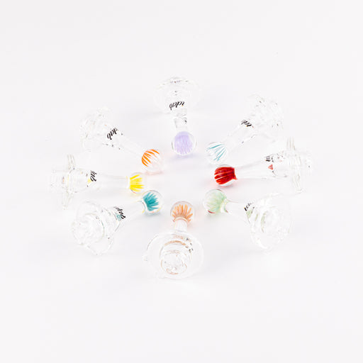 iDab 2 Hole Spinner Carb Cap - Clear
