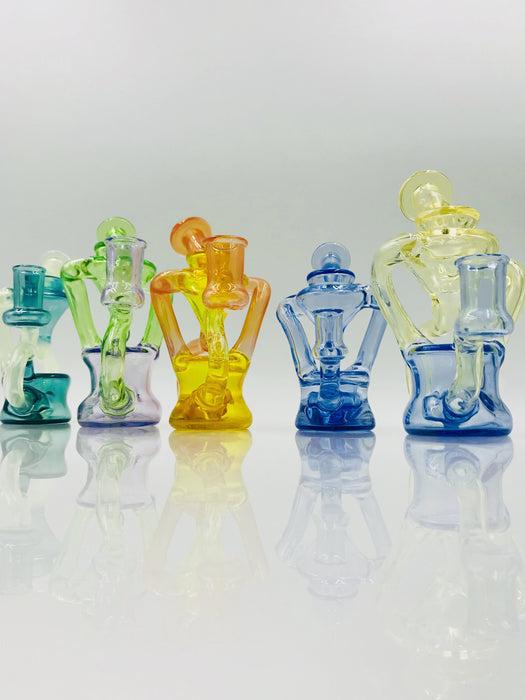 Organik Glass Color Recycler Rig