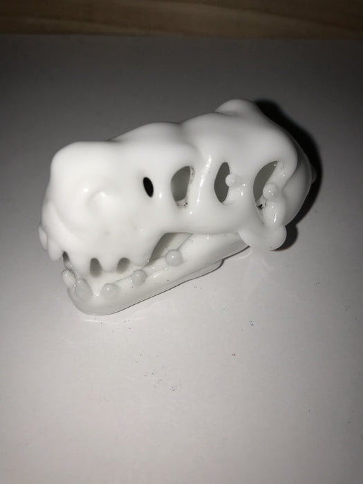 Tony Kazy White T-Rex Heady Glass Carb Cap