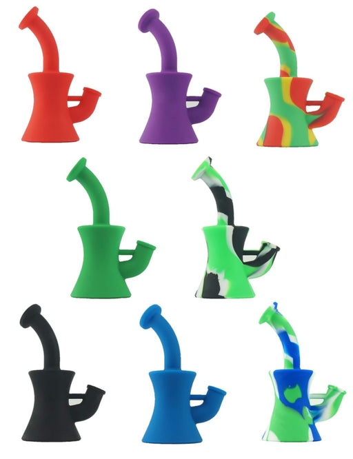 Silicone Water Pipe, The Skinny Bubbler