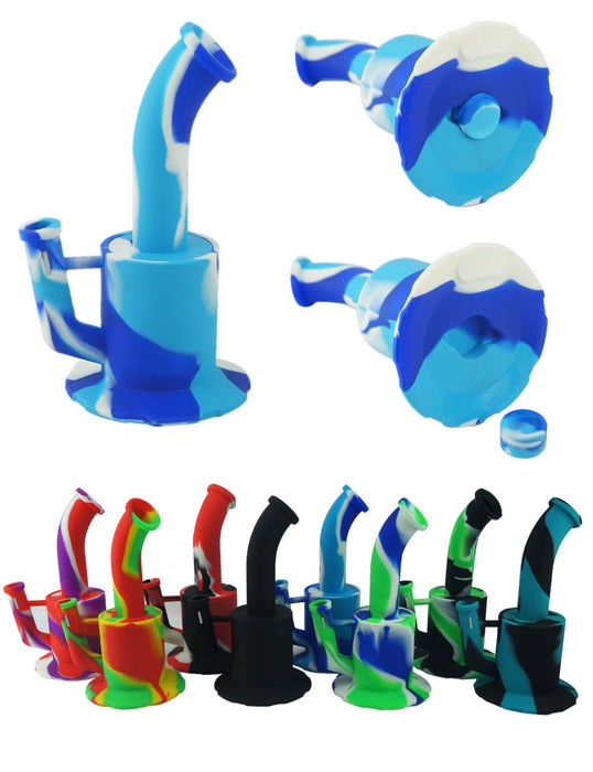 Silicone Water Pipe, The Classic Rig