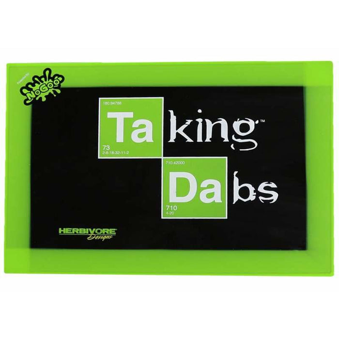 NoGoo Silicone Dab Mat - Taking Dabs Edition, Collection Tools by NoGoo available on Dab Nation