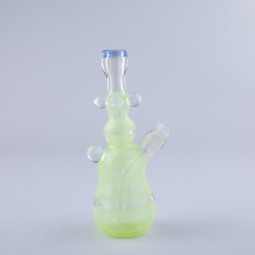 Eric Sandberg Green Tube Dual Use Wax Rig and Bong 10mm