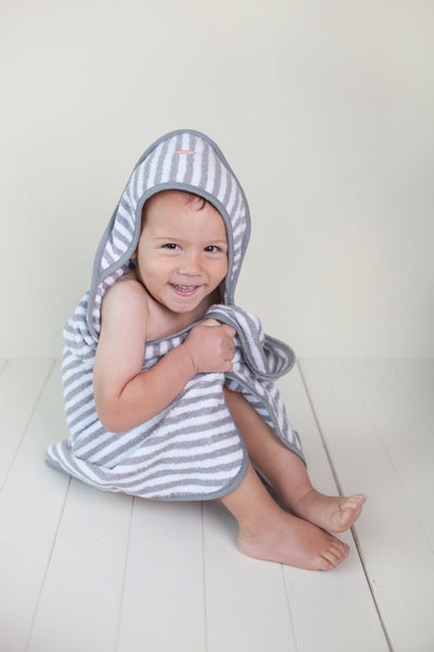 Troupe Baby Towel - Stripe