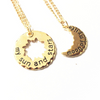 Couple's GoT Sun and Moon Necklaces