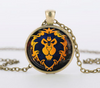 World of Warcraft Glass Pendant Necklace