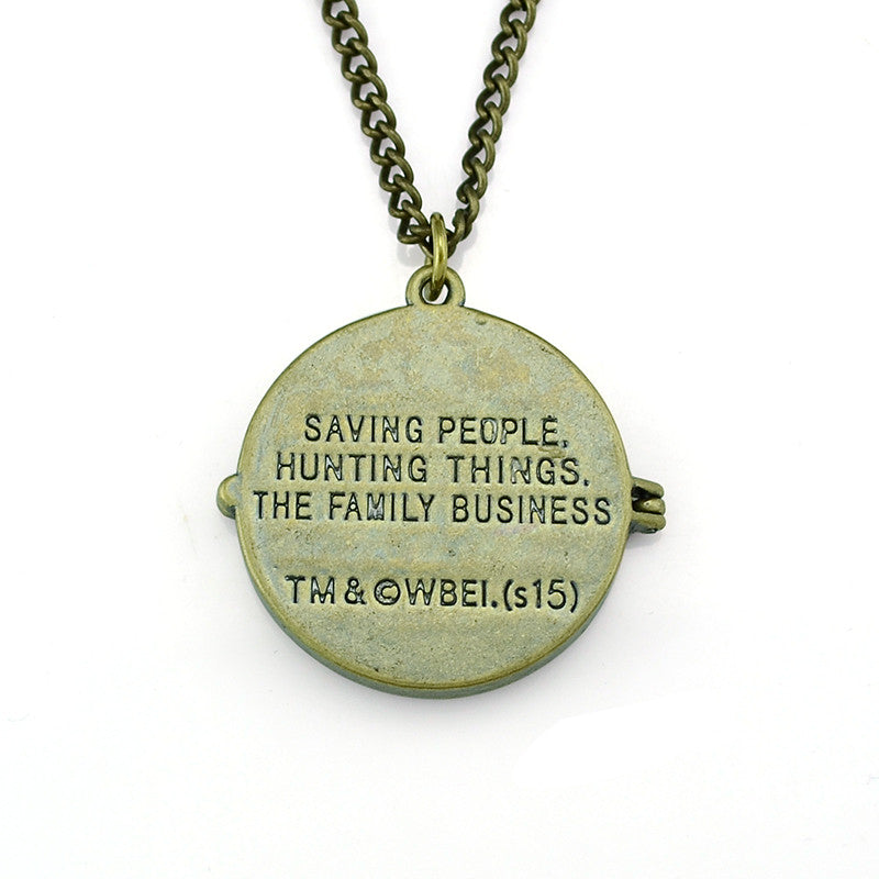 Saving people supernatural necklace pocket lint and other things saving people supernatural necklace aloadofball Gallery