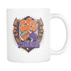 Custom Clemson Tigers Sugar Skulls