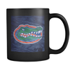 Custom Gators Wood Grain Mug