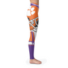 Custom Clemson Leggings