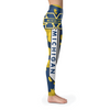 Custom Michigan Wolverine Camo Leggings