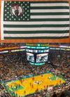 BostonCeltics Stripe and Stars Flag