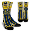 Custom Michigan Wolverine Socks 2017 2