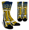Custom Michigan Wolverine Socks 2017 1