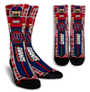Custom New York Giants Socks 2017 2
