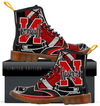 Custom Nebraska Cornhuskers Men's Boots 2017 2
