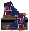 Custom New York Giants Men's Boots 2017 1