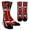 Custom Nebraska Cornhuskers Socks 2017 1