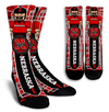 Custom Nebraska Cornhuskers Socks 2017 2