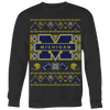 Custom Michigan Wolverines Ugly Sweater 2017 Premium
