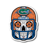 Custom Gators Sugar Skull Stickers