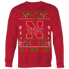 Custom Nebraska Cornhuskers Ugly Sweater 2017 Premium 2