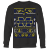 Custom Michigan Wolverines Ugly Sweater 2017 Premium 2