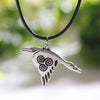 Celtic Raven Necklace