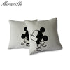 Mickey and Minnie Kisses Cushion Case Set