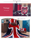 Premium Quality British Flag Fleece Blanket