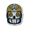 Custom Notre Dame Sugar Skull Stickers