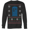 Ugly Christmas Sweater|Doctor Who Tardis