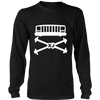 XJ Cherokee Skull and Bones Tee Shirt