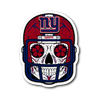 Custom New York Giants Sugar Skull Stickers