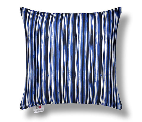 Blue Striped Massage Cushion Cover, M Cushion