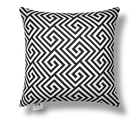 black and white cushion cover, m cushion