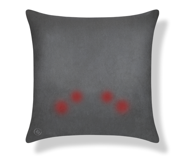 M Cushion Deluxe Charcoal Pin Dot Back