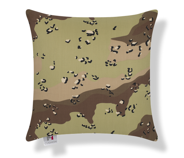 M Cushion Desert Camo Front