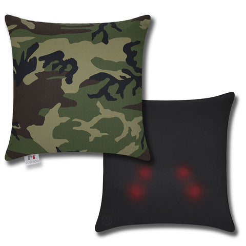 M Cushion Jungle Camo Overlay