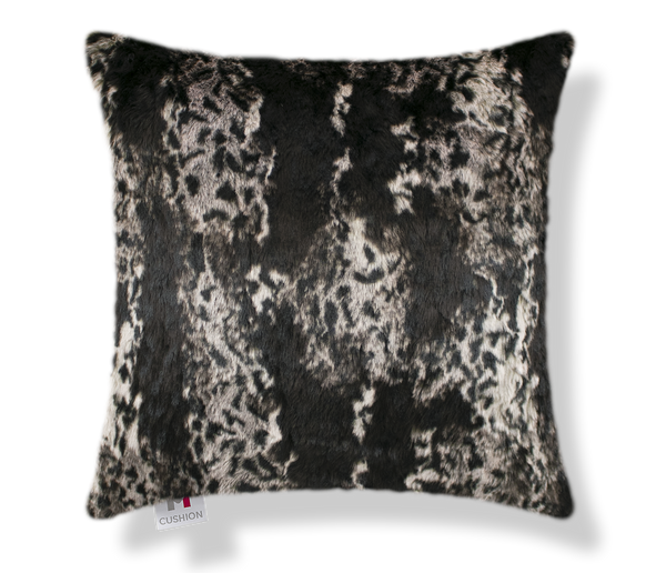 "18"" M Cushion Lynx Faux Fur Cover"
