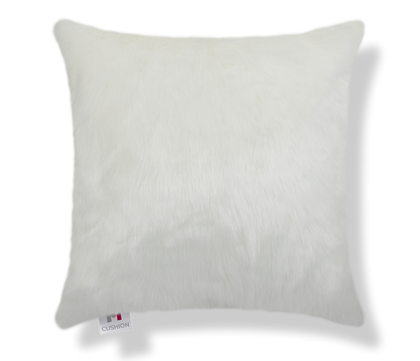 "18"" M Cushion Polar Faux Fur Cover front"