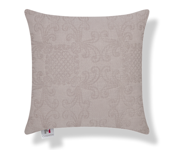 "18"" M Cushion Quilted Dusty Rose Cover"