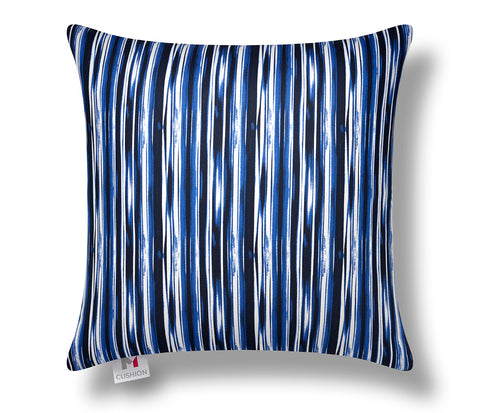 "16"" M Cushion Cover Abstract Blue"