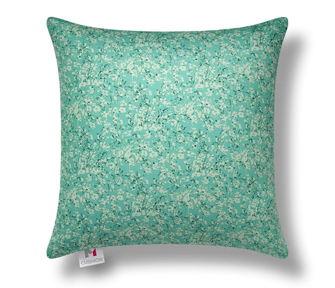 "16"" M Cushion Cover Floral Green"
