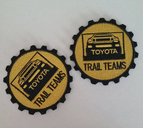 "Trail Teams 3"" FJ Cruiser Patch"
