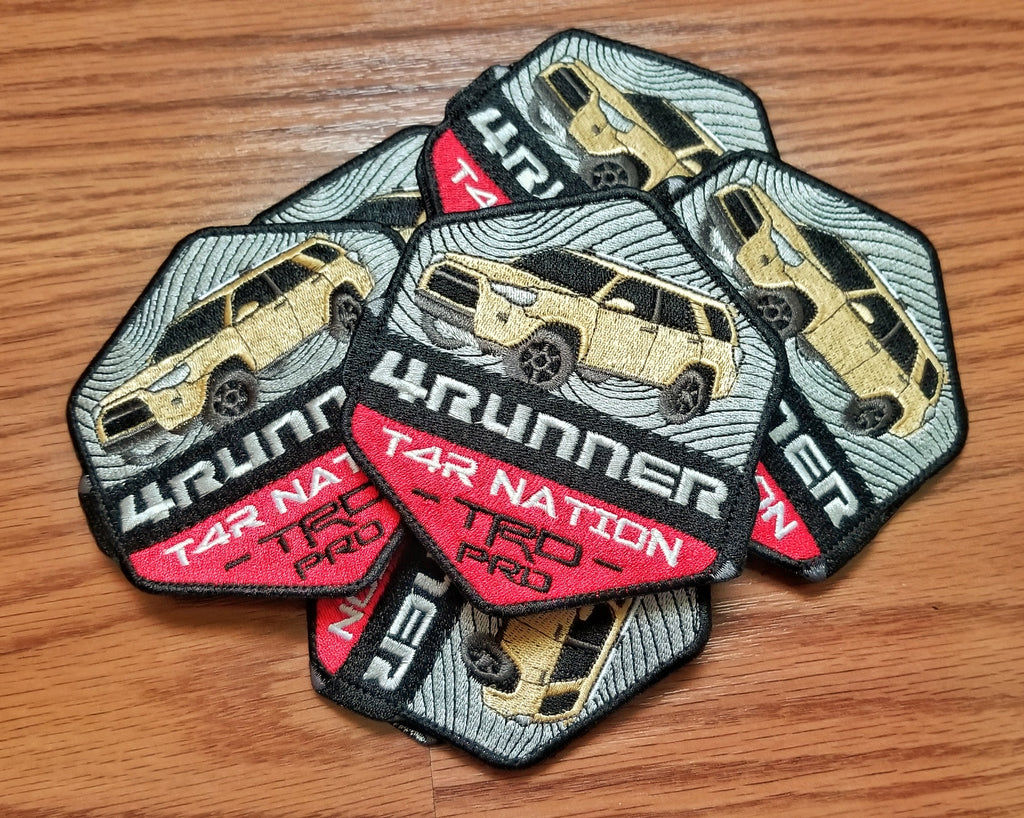 "4Runner T4R Nation 4"" Velcro Patch"
