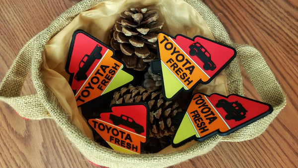 "Ivan Toyota Fresh Trees 4"" 3D TPR Patch"
