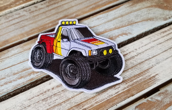 Ivan Mini v2 BTTF Truck Velcro Patch